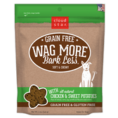 Wag More Bark Less Soft & Chewy Chicken & Sweet Potato Treats, 5 oz.