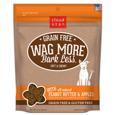 Wag More Bark Less Soft & Chewy Peanut Butter & Apples Treats, 5 oz.