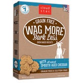 Wag More Bark Less Baked Smooth Aged Cheddar Biscuits, 14 oz.