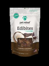 Carob/Coconut CBD Hemp Oil Edibites, 7.5 oz.