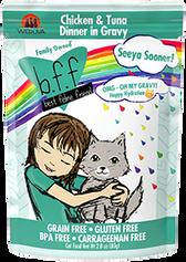 BFF OMG - Seeya Sooner Chicken & Tuna Cat Food Pouch, 2.8 oz.
