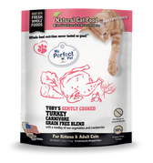 My Perfect Pet Cat Frozen Raw Toby's Carnivore Turkey, 2.5#