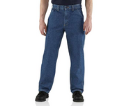 Carhartt Flame-Resistant FR Utility Denim Dungaree Jeans