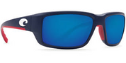 CLOSEOUT! Costa Sunglasses Fantail USA Blue Mirror 400G