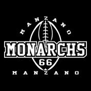 Manzano - Football-12 Car Decal