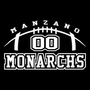 Manzano - Football-70 Car Decal