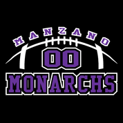 Manzano - Football-70 Car Decal 2clr