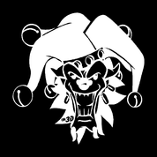 Clown-01 - Car Decal