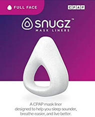 Snugz is a CPAP mask liner fits most full face masks