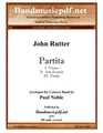 Partita, in three movements