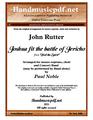 Feel the Spirit - Joshua fit the battle of Jericho
