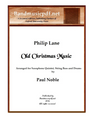 Old Christmas Music - Saxophone Quintet