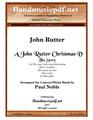 A John Rutter Christmas V - The Story