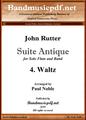 Suite Antique 4. Waltz