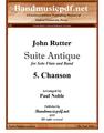 Suite Antique 5. Chanson