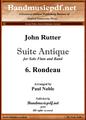 Suite Antique 6. Rondeau