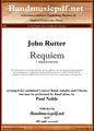 Requiem 1.  Requiem aeternam