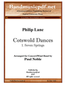 Cotswold Dances 1. Seven Springs
