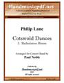 Cotswold Dances 2. Badminton House