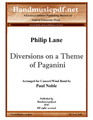 Diversions on a Theme of Paganini