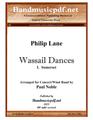 Wassail Dances 1. Somerset