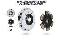 Clutch Masters 2016+ Honda Civic 1.5T Clutch, FX400 - Single Disc Clutch Series