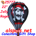 "25777  Jolly Rogers 22"" Hot Air Balloons (25777)"