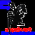 80109  Bunny Finial (80109)