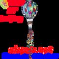 """25786  Ladybug 16"""" Hot Air Balloons (25786)"""