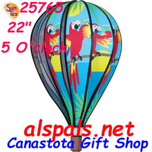"For those that live in high sun areas ( U V Rays ) or that want the best for their out door treasures order #22795 UV Tech 4oz or #22798 UV Tech 12oz   5 O'Clock 22"" Hot Air Balloons (25765)"