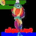 "77722  36"" Rainbow Fish (77722)"