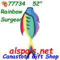 "77734  52"" Rainbow Surgeon Fish (77734)"