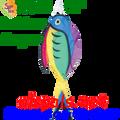 """77734  52"""" Rainbow Surgeon Fish (77734)"""