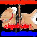 25067 Dog (Golden Retriever) : Petite & Whirly Wing Spinner (25067)