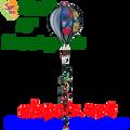 "25792  Hummingbirds 16"" Hot Air Balloons (25792)"