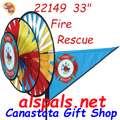 22149  Fire Rescue Triple Spinners (22149)