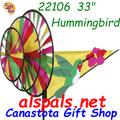22106  Hummingbird Triple Spinners (22106)