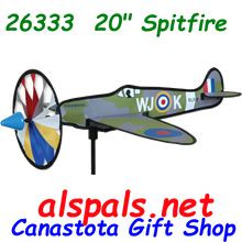 """26333 Spitfire 20"""": Airplane Spinners (26333)"""