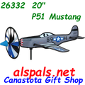 """26332 P-51 Mustang 20"""" : Airplane Spinners (26332)"""