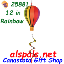 "25881 Rainbow 12"" Hot Air Balloon: Special Pricing (25881)"