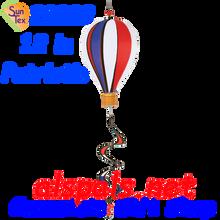 "25882  Patriotic 12"" Hot Air Balloon: Special Pricing (25882)"