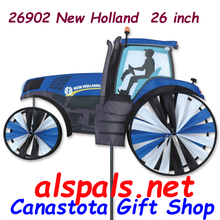 """26902 New Holland 26"""": Tractor Spinners (26902)"""