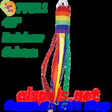 "77811  Rainbow Column 40"", Windsock (77811)"