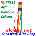 "77811  Rainbow Column 40"", Windsock (77811)"