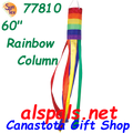 "77810 Rainbow Column 60"", Windsock (77810)"