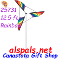 "25731  Rainbow : 12' Wind Generators (25731).  When you want to make a large statement or cause a "" LOOK AT ME "" Premier Wind Generators are the TICKET. Great for your business or Estate. Order from Canastota Gift Shop & we will ship right away."