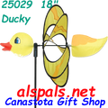 """25029 Ducky (Yellow) 18"""": Petite & Whirly Wing Spinner (25029)"""