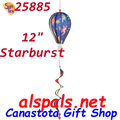 """25885  Starburst 12"""" Hot Air Balloon: Special Pricing (25885)"""