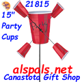 "21815  Party Cups 15"" : Whirligig (21815)"