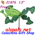 "21876  Frogs 13"" , Whirligig (21876)"
